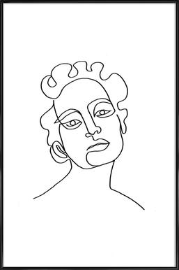 Maude Poster im Kunststoffrahmen