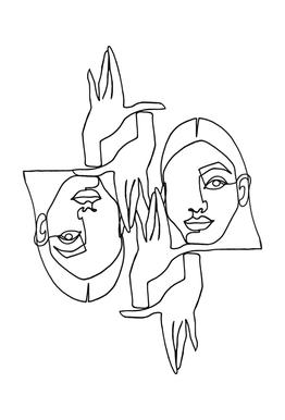 Mila -Acrylglasbild