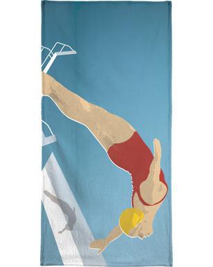 Natation serviettes de plage | JUNIQE