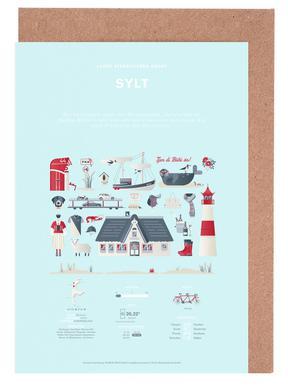 Sylt cartes de vœux