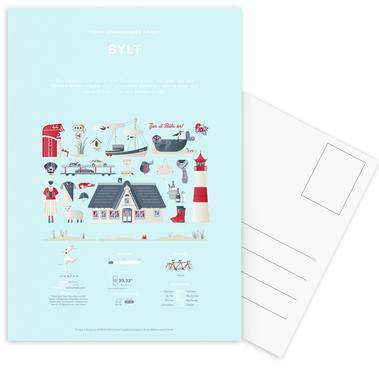 Sylt Postcard Set