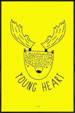 Young Heart 2 Framed Poster