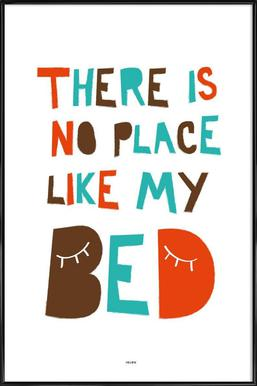 My Bed Affiche sous cadre standard