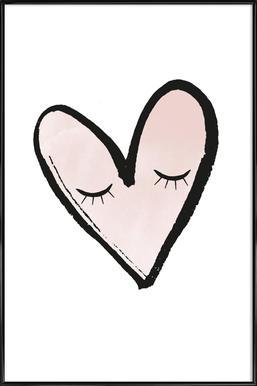 Hearty Affiche sous cadre standard