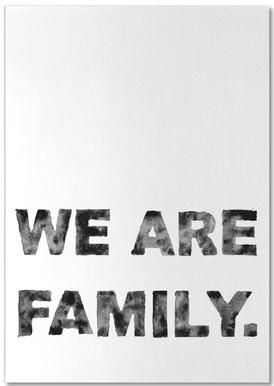 We Are Family notitieblok