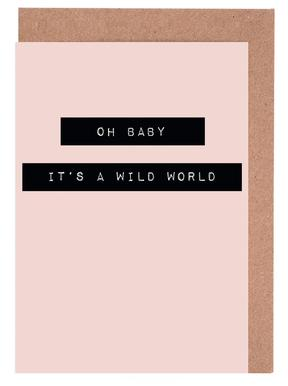 Wild World Greeting Card Set
