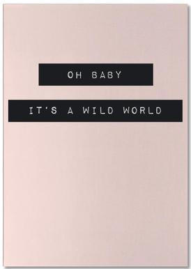 Wild World Notepad