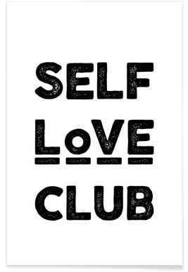 Peace Selflove Club Poster