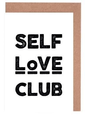 Peace Selflove Club Grußkartenset