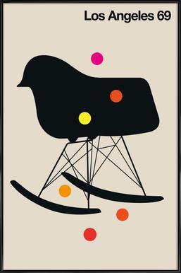 Los Angeles 69 Framed Poster