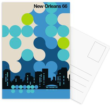 New Orleans 66 Postcard Set