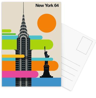 New York 64 Postcard Set