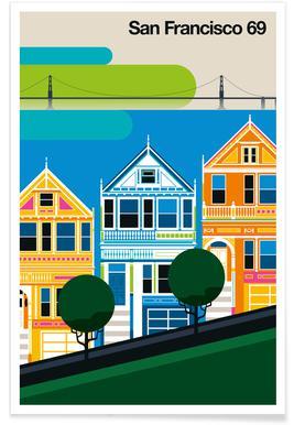 San Francisco 69 Poster
