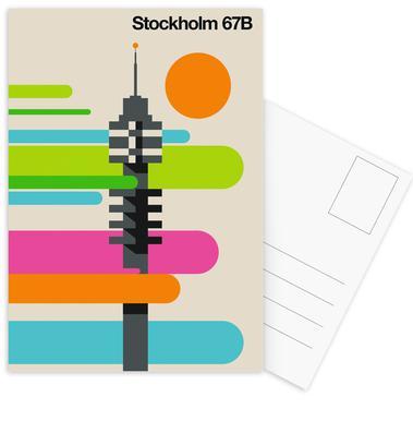Stockholm 67B Postcard Set