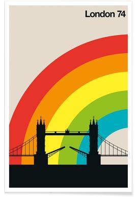 London 74 affiche