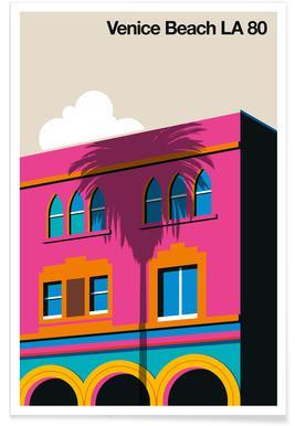 Venice LA 80 Affiche