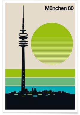 München 80 Poster
