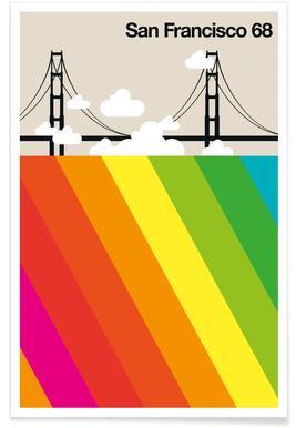 San Francisco 68 Poster