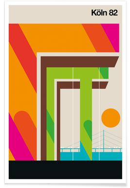 Köln 82 Poster