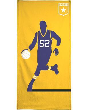 Basketball Serviette de bain