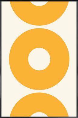 Hot Sun Poster in Standard Frame