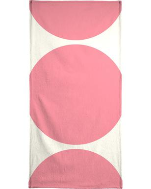 Pink Moon Beach Towel