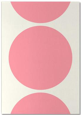 Pink Moon Notepad