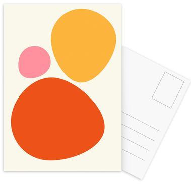 Hot Stones Set de cartes postales