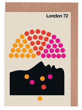 London 72 Greeting Card Set