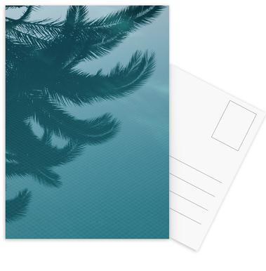 Palms In The Pool Postcard Set