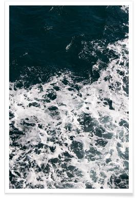 Waves & Water Poster