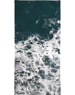 Waves & Water Serviette de bain