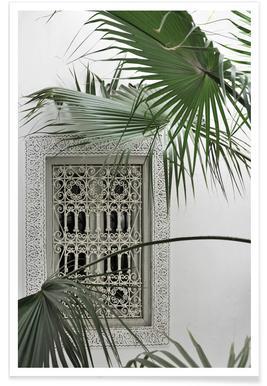 Orient Garden Dreams -Poster