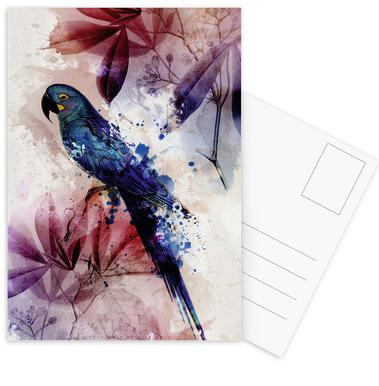 Botanic 2 Set de cartes postales