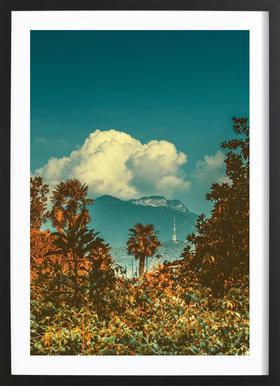 The Palm Plakat i træramme