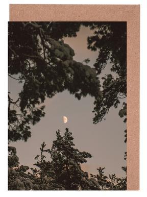 The Moon Greeting Card Set