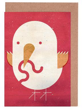 Big Bird Set de cartes de vœux
