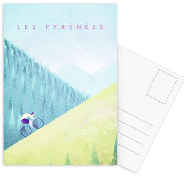 Les Pyrénées Postcard Set