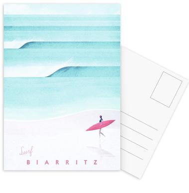 Biarritz Set de cartes postales
