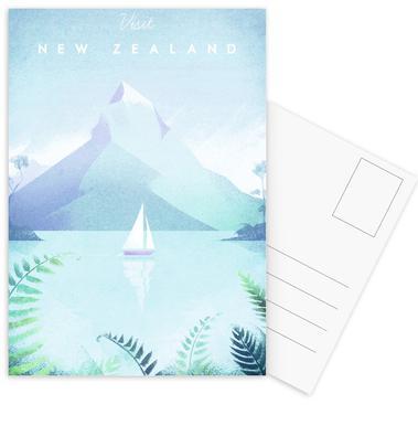 New Zealand Set de cartes postales