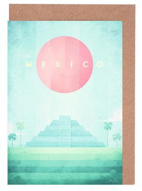 Mexico Set de cartes de vœux