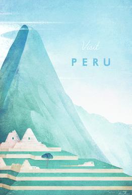Peru Acrylglasbild