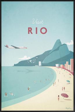 Rio affiche encadrée