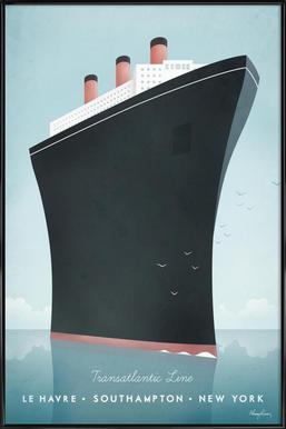 Cruise Ship affiche encadrée