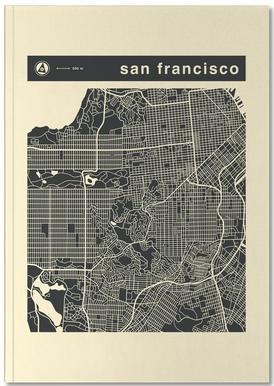City Maps Series 3 Series 3 - San Francicso Notitieboekje