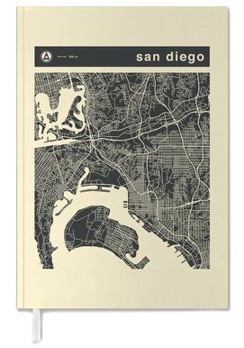 City Maps Series 3 Series 3 - San Diego -Terminplaner
