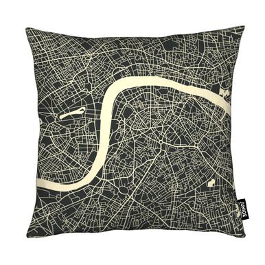 City Maps Series 3 Series 3 - London Cushion