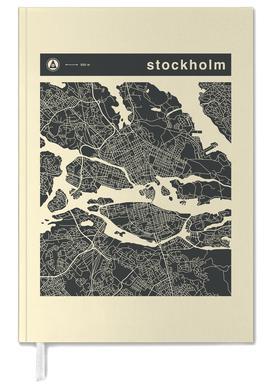 City Maps Series 3 Series 3 - Stockholm -Terminplaner