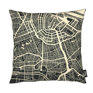 City Maps Series 3 Series 3 - Amsterdam Kussen