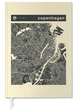 City Maps Series 3 Series 3 - Copenhagen -Terminplaner